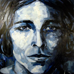 portrait of Nina oil on canvas