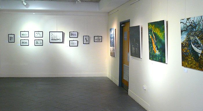 Artworks by Annette and Helen
