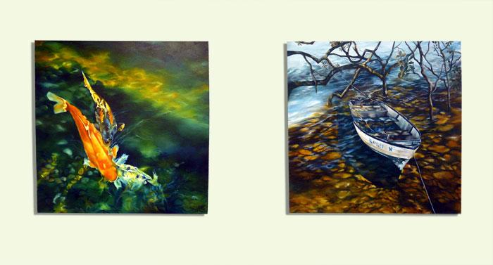 Oil paintings by Helen