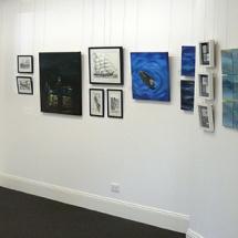 Water Lines Exhibition in the Bellevue Room at CStudios
