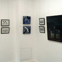 Works by Signe Eklund, Annette Abolins and Helen Mortimer