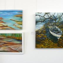 Works by Signe Eklund and Helen Mortimer