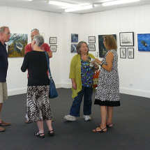 Water Lines exhibition opening