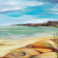 Peaceful-Bay-oil-on-canvas-25x30-large