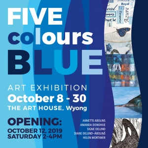 Five Colours Blue: Exhibition at The Art House October 8-30